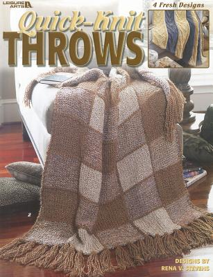 Quick-Knit Throws Cover