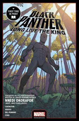 Black Panther: Long Live the King (Marvel Premiere Graphic Novel) Cover Image