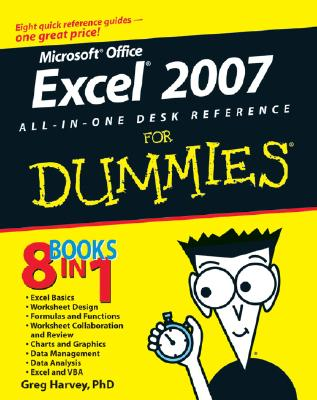 Excel 2007 All-In-One Desk Reference for Dummies Cover Image