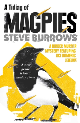 A Tiding of Magpies: A Birder Murder Mystery Cover Image
