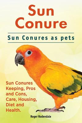 Sun Conure. Sun Conures as pets. Sun Conures Keeping, Pros and Cons, Care, Housing, Diet and Health. Cover Image