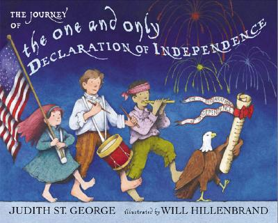 The Journey of the One and Only Declaration of Independence Cover