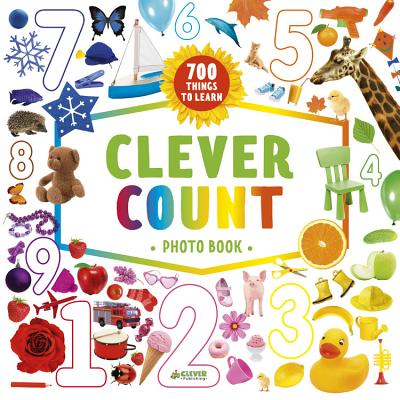 Clever Count Photo Book: 700 Things To Count (Clever Search And Count) Cover Image