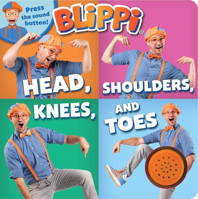 Blippi: Head, Shoulders, Knees, and Toes Cover Image