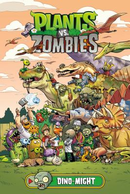 Plants vs. Zombies Volume 12: Dino-Might Cover Image