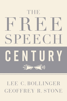 The Free Speech Century Cover Image