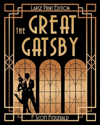 The Great Gatsby (LARGE PRINT) Cover Image