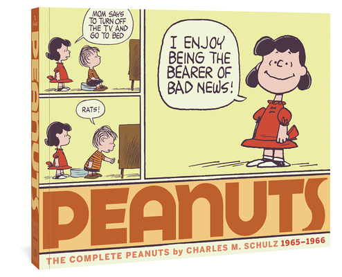 The Complete Peanuts 1965-1966: Vol. 8 Paperback Edition Cover Image
