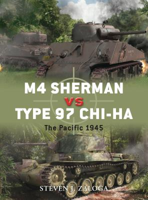 M4 Sherman vs Type 97 ChI-HA: The Pacific 1945 Cover Image