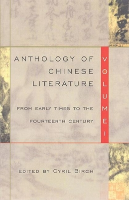 Cover for Anthology of Chinese Literature