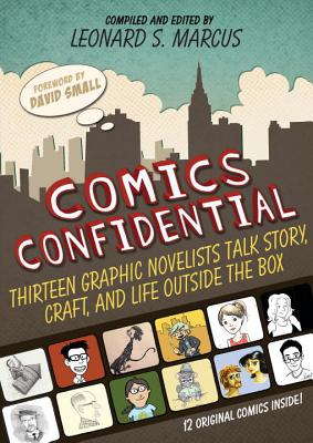 Comics Confidential Cover