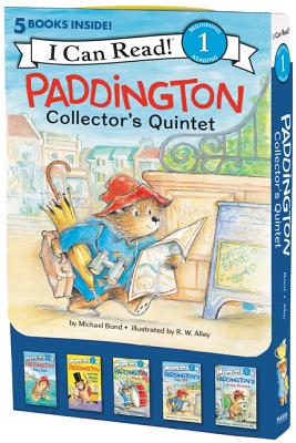 Paddington Collector's Quintet: 5 Fun-Filled Stories in 1 Box! (I Can Read Level 1) Cover Image