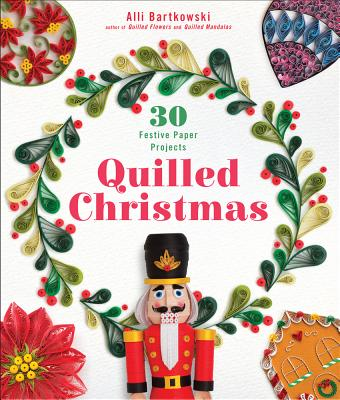 Cover for Quilled Christmas