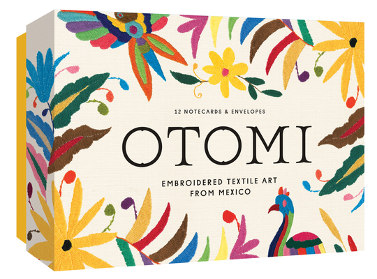 Otomi Notecards: Embroidered Textile Art from Mexico Cover Image