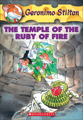 The Temple of the Ruby of Fire (Geronimo Stilton #14) Cover Image