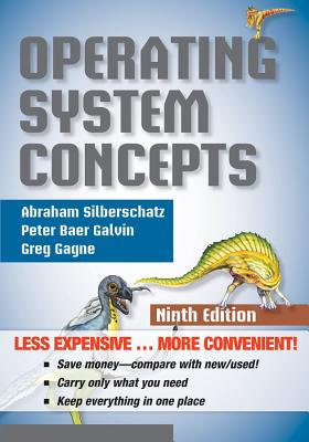 Operating System Concepts, Binder Ready Version Cover Image