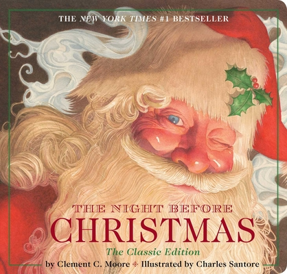 The Night Before Christmas board book: The Classic Edition Cover Image