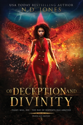Of Deception and Divinity (Death and Destiny Trilogy #3) Cover Image