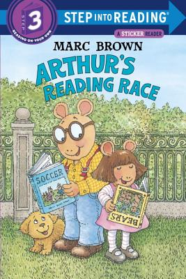 Arthur's Reading Race [With Two Full Pages of] Cover Image