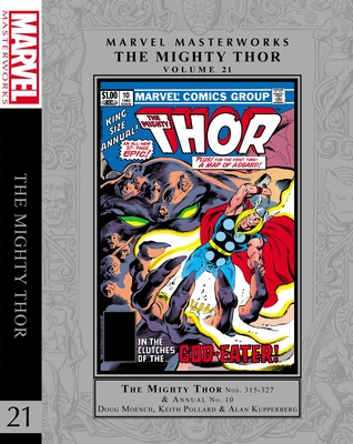 Marvel Masterworks: The Mighty Thor Vol. 21 Cover Image