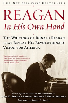 Reagan, in His Own Hand Cover