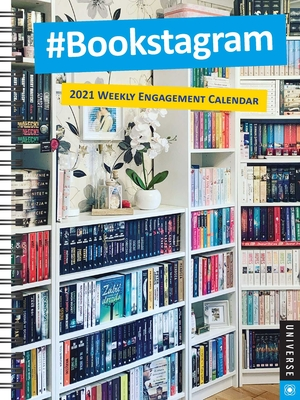 #Bookstagram 16-Month 2020-2021 Weekly Engagement Calendar Cover Image