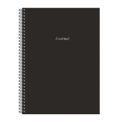 Black Wire-O Journal B5 7 X 10