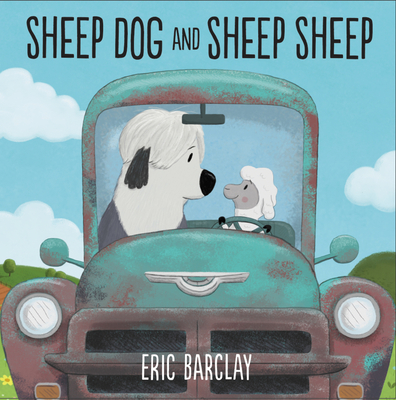 Sheep Dog and Sheep Sheep by eric Barclay