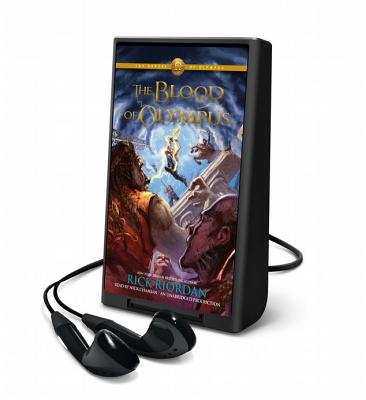 The Heroes of Olympus, Book Five: Blood of Olympus Cover Image
