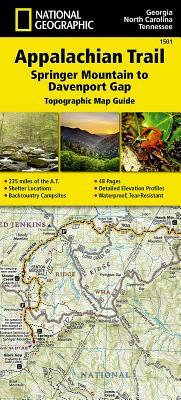 Appalachian Trail, Springer Mountain to Davenport Gap [Georgia, North Carolina, Tennessee] Cover Image