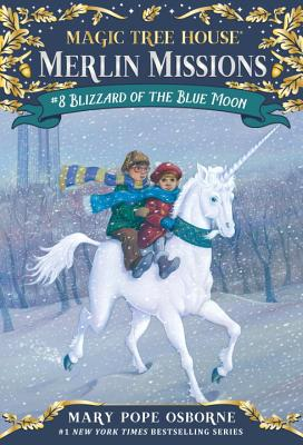 Blizzard of the Blue Moon (Magic Tree House (R) Merlin Mission #8) Cover Image