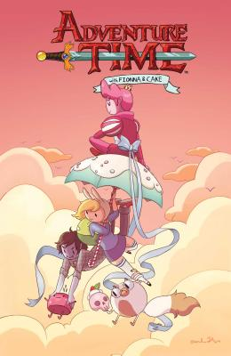 Adventure Time with Fionna & Cake Cover