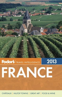Fodor's France 2013 Cover
