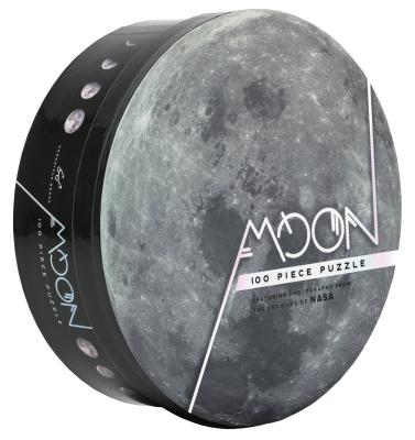 100 Piece Moon Puzzle: Featuring Photography from the Archives of NASA (Space Puzzles, Photography Puzzles, NASA Puzzles) Cover Image