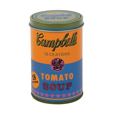 Andy Warhol Soup Can Crayons Orange Cover Image