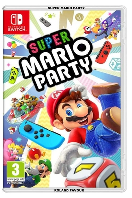 Super Mario Party Cover Image