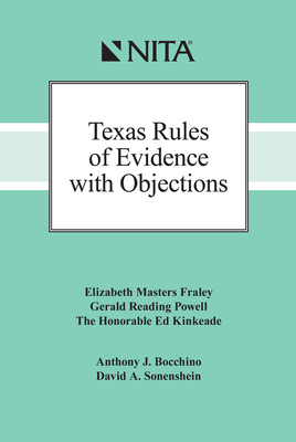 Texas Rules of Evidence with Objections Cover Image