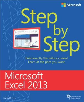 Microsoft Excel 2013 Step by Step Cover Image
