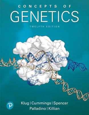 Concepts of Genetics Plus Mastering Genetics with Pearson Etext -- Access Card Package [With eBook] Cover Image