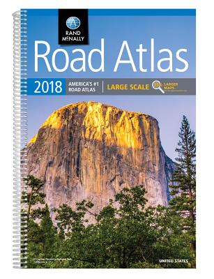 Rand McNally Large Scale Road Atlas 2018 cover image