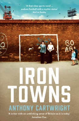 Cover for Iron Towns
