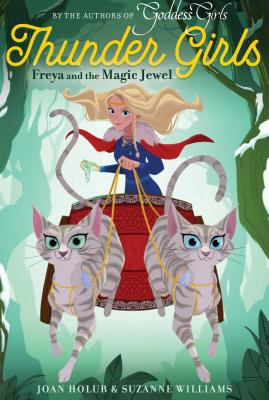 Freya and the Magic Jewel (Thunder Girls #1) Cover Image