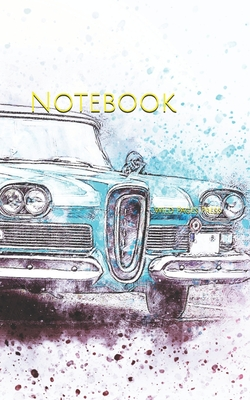 Notebook: car oldtimer classic vintage automobile auto club motor vehicle Cover Image