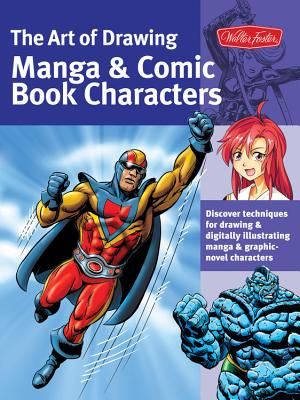 The Art of Drawing Manga & Comic Book Characters Cover