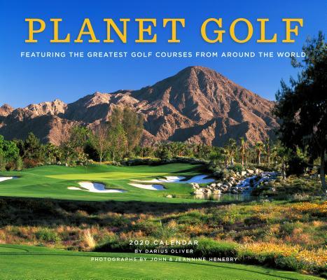 Planet Golf 2020 Wall Calendar Cover Image