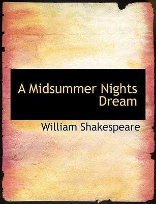 A Midsummer Nights Dream Cover Image