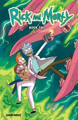 Rick and Morty Book Two: Deluxe Edition Cover Image