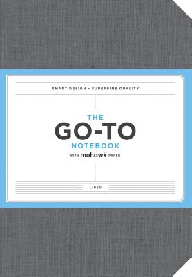 Go-To Notebook with Mohawk Paper, Slate Grey Lined: (Lined Notebook, Line Notebook, Notebook with Lines) Cover Image