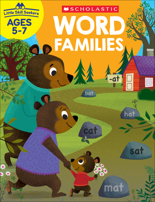 Little Skill Seekers: Word Families Workbook Cover Image