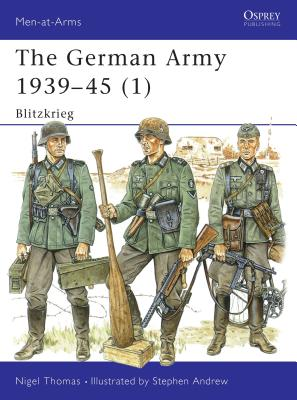 The German Army 1939-45 (1): Blitzkrieg Cover Image